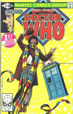 Marvel Premiere #57 (December, 1980): Doctor Who; First American Dr. Who Comic Book Appearance