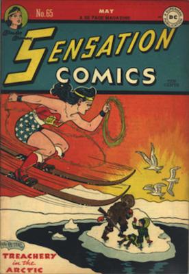Sensation Comics #65. Click for current values.