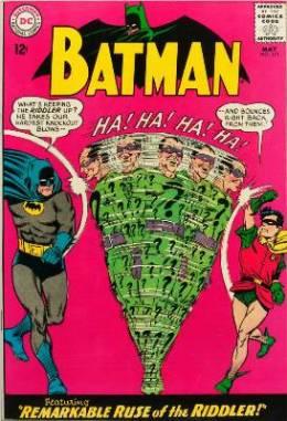 100 Hot Comics 2020 #52: Batman 171, 1st Silver Age Riddler. Click to order a copy