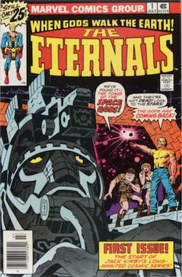 Hot Comics #37: Eternals 1. Click to order a copy