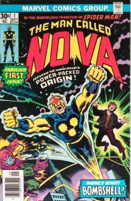 100 Hot Comics #46: Man Called Nova 1. Click to buy a copy