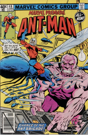 Marvel Premiere #48 (June, 1979): Ant-Man. Click for values