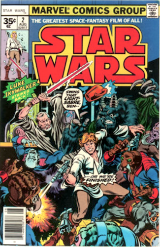 Star Wars #2, 35 Cent Price Variant. Click for values