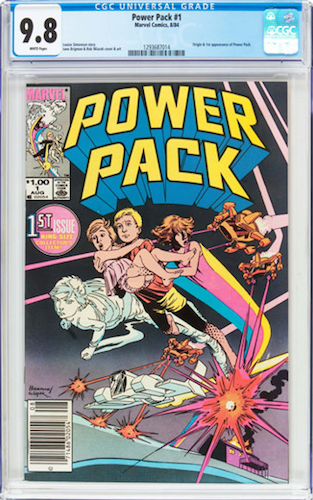 Power Pack #1 is one of the comics tipped in the Beginners Guide to Comic Book Investing 2018-19 eBook from https://www.sellmycomicbooks.com/