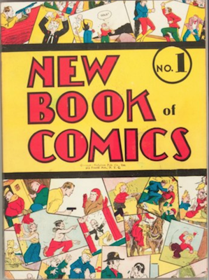 New Book of Comics #1 (1936): Rare Early DC Annual. Click for values