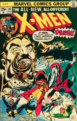 X-Men #94: origin and first appearance of the New X-Men team