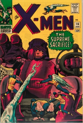 X-Men #16: record price $6,000