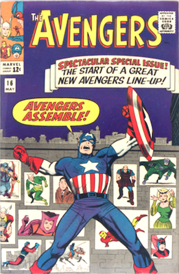 Avengers Assemble! Avengers comic #16 features the new line-up