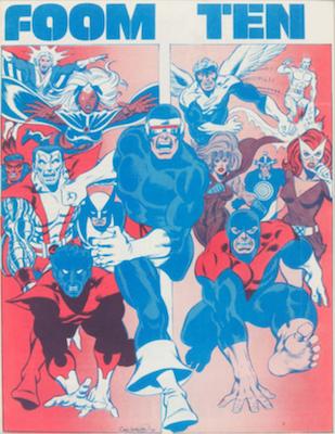 New Entry! FOOM #10, 1st Byrne Art on X-Men. Click for values