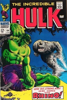 Incredible Hulk: #5 most popular of Marvel Comics characters