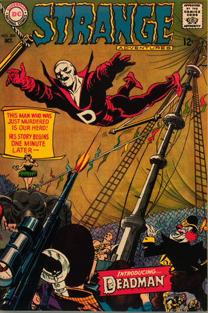 Hot Comics #96: Strange Adventures #205, 1st Deadman. Click to find your copy!