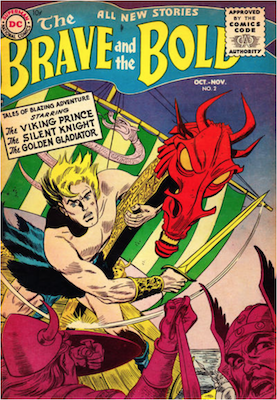 Brave and the Bold #2. Click for current values.
