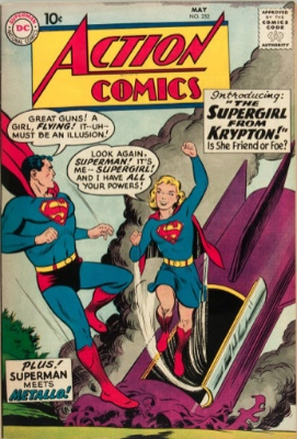Action Comics #252 first Kara Zor El SuperGirl