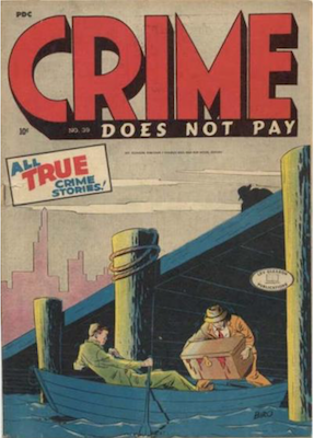 Crime does not Pay #39. Click for current values.