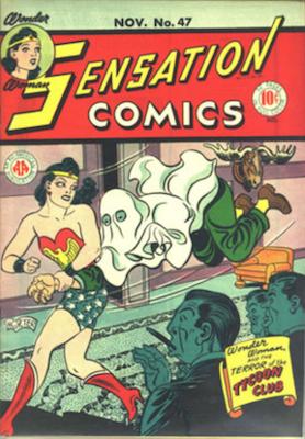 Sensation Comics #47. Click for current values.