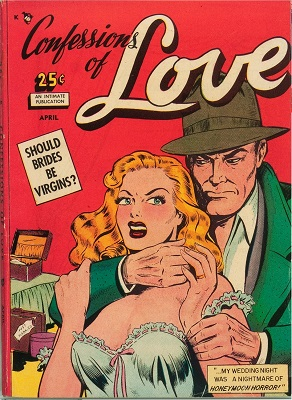 Confessions of Love #1: First issue of the series. Click for value