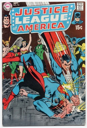 Justice League of America #74: Black Canary joins the JLA