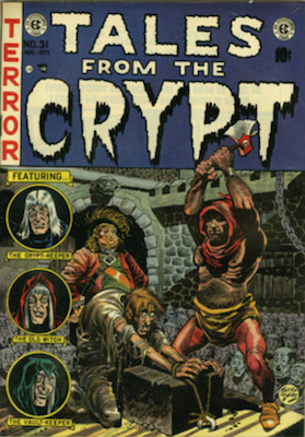Tales from the Crypt #31. Click for current values.