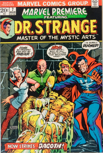 Marvel Premiere #7 (March, 1973) : Dr. Strange. Click for values