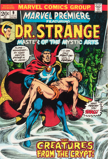 Marvel Premiere #9 (July, 1973) : Dr. Strange. Click for value