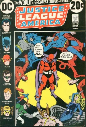 Justice League of America #106: Red Tornado joins the JLA