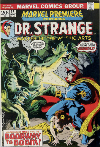 Marvel Premiere #12 (November, 1973) : Dr. Strange. Click for value