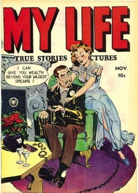 My Life #5: Rare early issue. Click for values