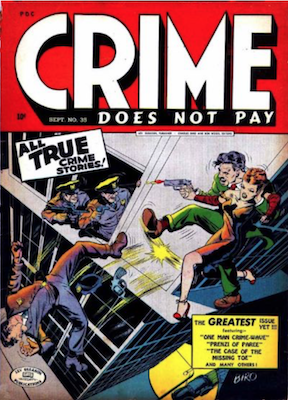 Crime does not Pay #35. Click for current values.