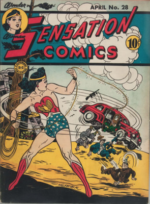 Sensation Comics #28. Click for current values.