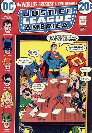 Justice League of America #105: Elongated Man joins the JLA
