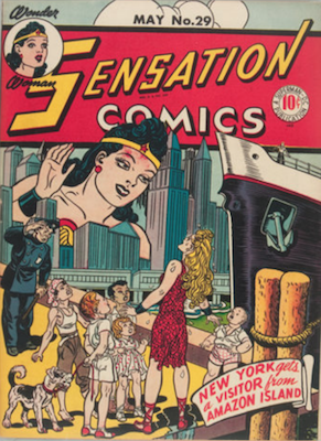 Sensation Comics #29. Click for current values.