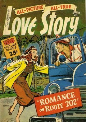 All Picture All True Love Story #1: First issue of the series. Click for value