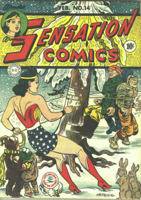 Sensation Comics #14. Click for current values.