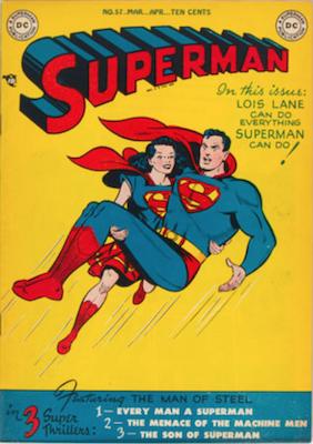 Superman #57. Click for current values.
