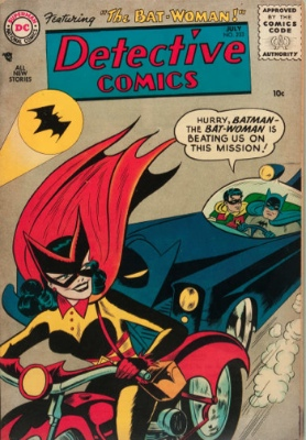 Detective Comics #233 (July 1956): First Appearance of Batwoman. Click for values