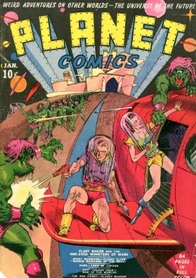 Planet Comics #1 is a really rare comic book. Click for values from this series