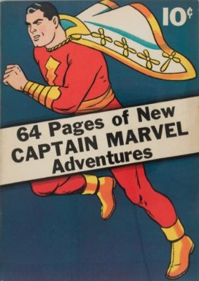 Captain Marvel Adventures #1 (1941). The first stand-alone Captain Marvel comic book. Click for values