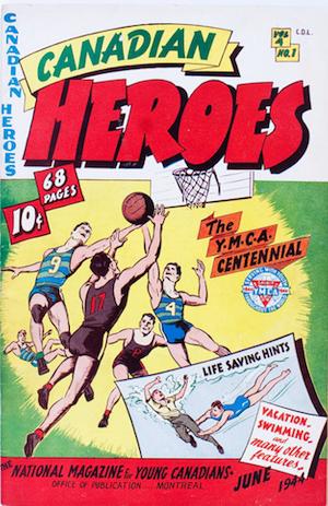 Canadian Heroes v4 #1