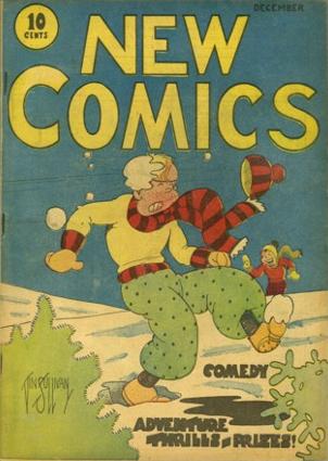 New Comics #1 (1935). Rare. Click for values