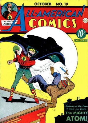 All-American Comics #19: First Appearance of the Atom. Click for values