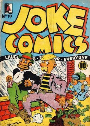 Bell Features Joke Comics #19
