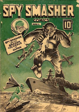Spy Smasher comics v2 #9