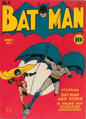Batman #6, Record sale: $27,000. Click for values