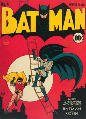 Batman #4. Record sale: $11,000. Click for values
