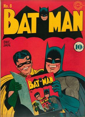 Batman #8, Record sale: $15,000. Click for values