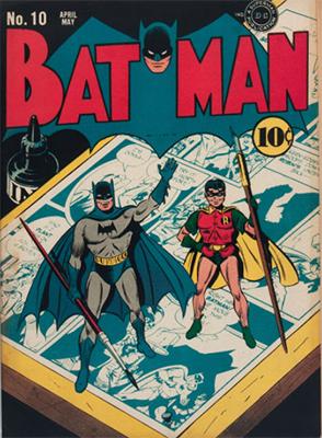 Batman #10, Record sale: $13,000. Click for values