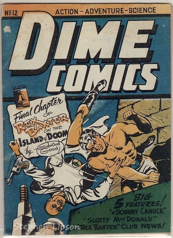 Bell Features Dime Comics #12