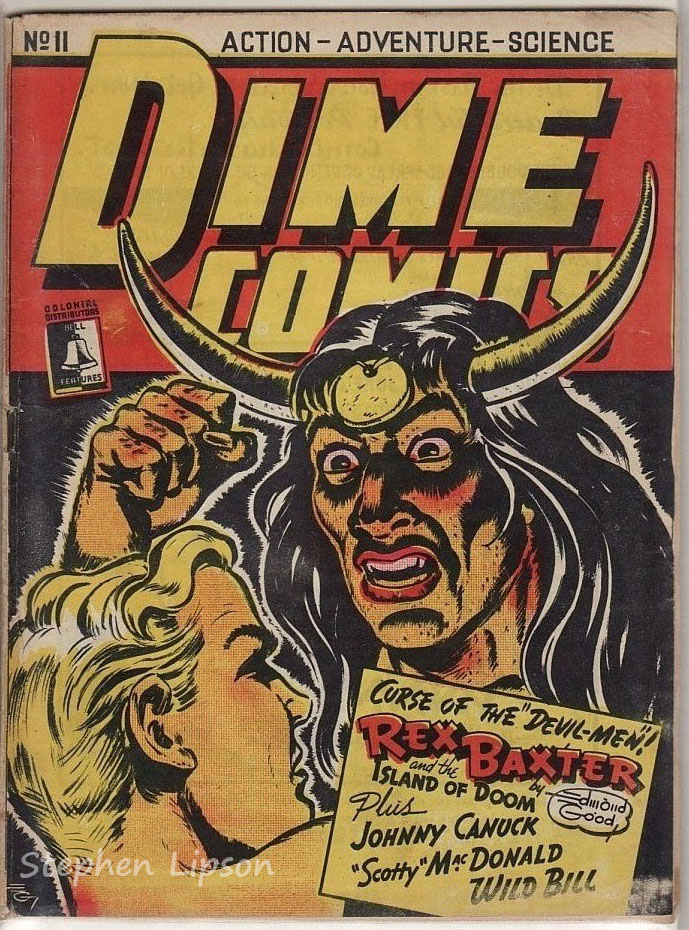 Bell Features Dime Comics #11