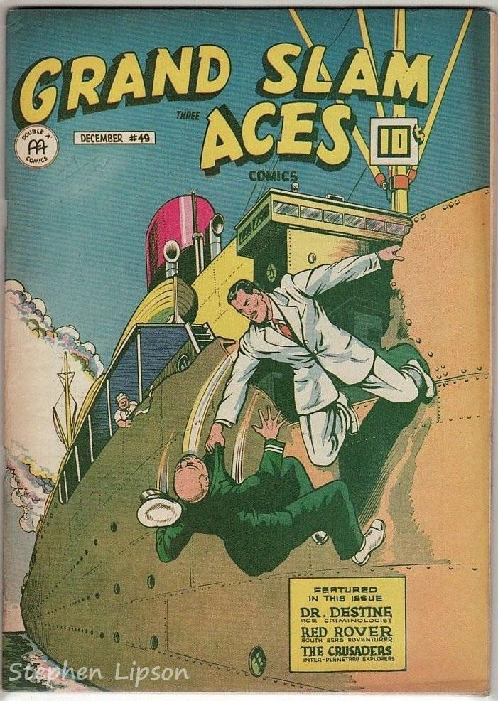 Grand Slam Three Aces Comics issue #49