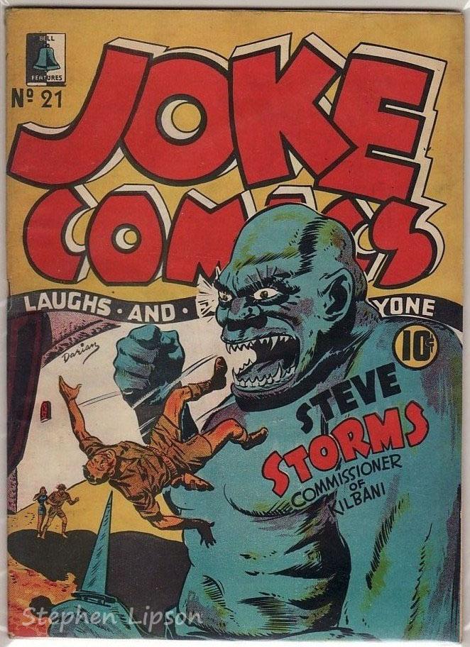 Bell Features Joke Comics #21